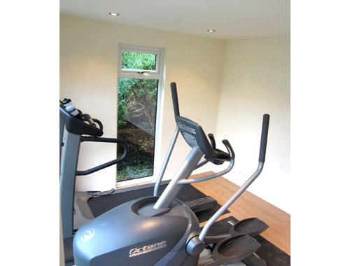 Gyms and saunas bathstone garden rooms