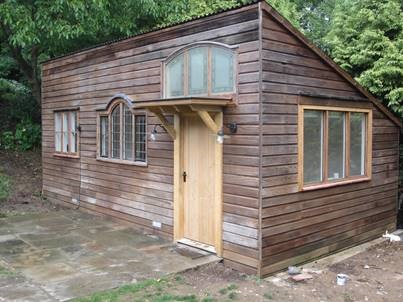 Unusual refurbished outbuilding….