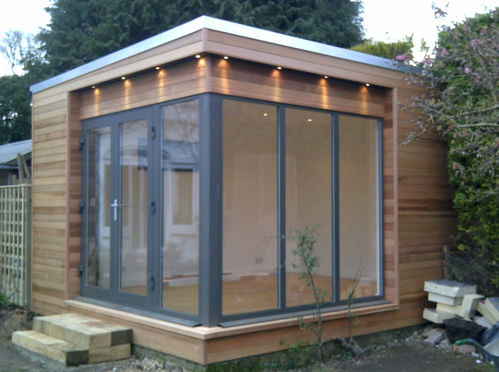 Garden rooms bathstone garden rooms for Garden gym room uk