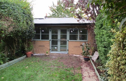 Stone Cladding On Elevation : Garden rooms alternatives to timber cladding